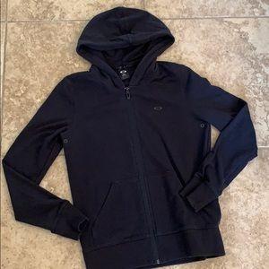 Oakley zip up hoodie Small